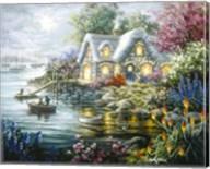 Cottage Cove Fine-Art Print
