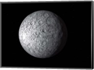 Ceres, a large Asteroid Fine-Art Print