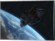 Asteroid in Front of the Earth IV Fine-Art Print
