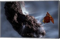 Deep Impact's Encounter with Comet Tempel 1 Fine-Art Print