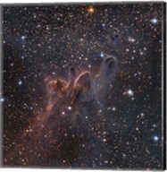 Cometary Globules CG 30/31/38 in the constellations Vela and Puppis Fine-Art Print
