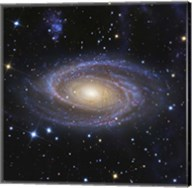 Messier 81, or Bode's Galaxy, is a spiral galaxy located in the Constellation Ursa Major Fine-Art Print
