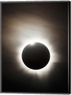 Solar Eclipse with diamond ring effect, Queensland, Australia Fine-Art Print