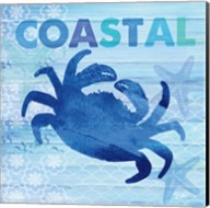 Sea Glass Crab Fine-Art Print