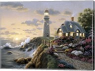 Lighthouse Cottage Fine-Art Print
