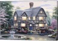 Freeman Cottage Fountain Fine-Art Print