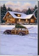 Log Cabin Fine-Art Print