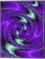 Purple and Teal Fine-Art Print