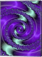 Purple and Teal Fine-Art Print