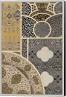 Ornament in Gold & Silver III Fine-Art Print