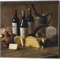 Wine And Cheese 2 Fine-Art Print