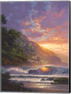 Glistening at Sundown Fine-Art Print