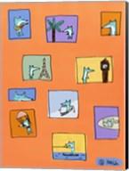 Felipe - Orange Fine-Art Print