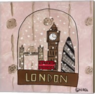 London Snow Globe Fine-Art Print