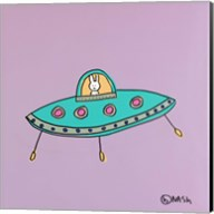 UFO Lala - Purple Fine-Art Print