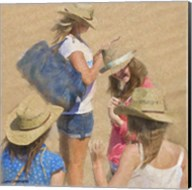 Girls on the Beach Fine-Art Print