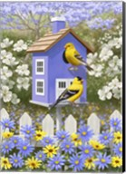 Goldfinch Garden Home Fine-Art Print