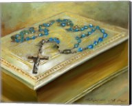 Bible with Cross Fine-Art Print