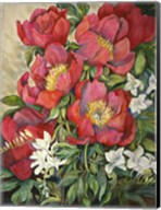 Red Peonies Fine-Art Print