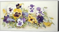 Pansies In Yellow- Purple Fine-Art Print