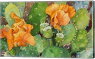 Blossoming Cactus Fine-Art Print