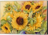 A Cutting of Sunflowers Fine-Art Print