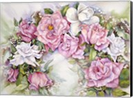 Arch Of Pink & White Roses Fine-Art Print