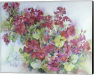 Geraniums Reaching For The Sky Fine-Art Print
