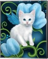 Aquamarine Cat Fine-Art Print