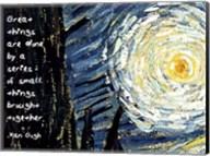 Great Things - Van Gogh Quote 1 Fine-Art Print