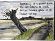 Normality - Van Gogh Quote 1 Fine-Art Print