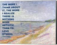 Love Others -Van Gogh Quote Fine-Art Print