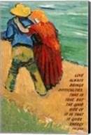 Love -Van Gogh Quote Fine-Art Print