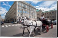 Horse Drawn Carriage in Vienna Fine-Art Print