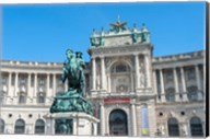 Austrian National Library, Vienna, Austria Fine-Art Print