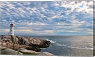 Lighthouse in Peggys Cove, Nova Scotia Fine-Art Print