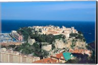 Principality of Monaco at Monte Carlo, France Fine-Art Print