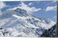 French Alps in Winter Fine-Art Print