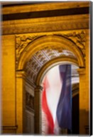 Flag Inside the Arc de Triomphe Fine-Art Print