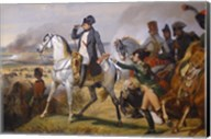 Painting of Napoleon in Hall of Battles Fine-Art Print