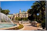 Fountain and Gardens, Monaco Fine-Art Print