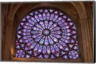 Interior of Notre Dame Cathedral, Paris, France Fine-Art Print