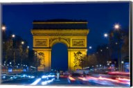 Military Ceremony at the Arc de Triomphe Fine-Art Print