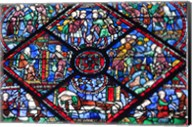 Chartres Cathedral Stained Glass Fine-Art Print