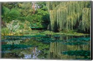Claude Monet's Garden Pond in Giverny, France Fine-Art Print