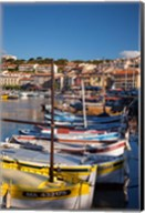Colorful Sailboats in Provence, France Fine-Art Print