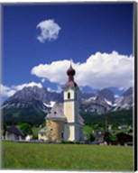 Church at Going, Tyrol, Austria Fine-Art Print