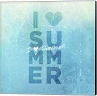I Heart Summer Fine-Art Print