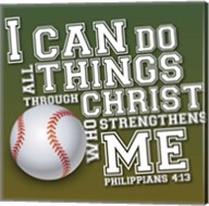 I Can Do All Sports - Baseball Fine-Art Print