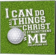I Can Do All Sports - Golf Fine-Art Print